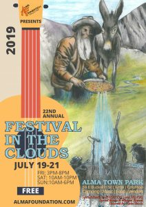 22nd Annual Festival in the Clouds @ Alma Town Park