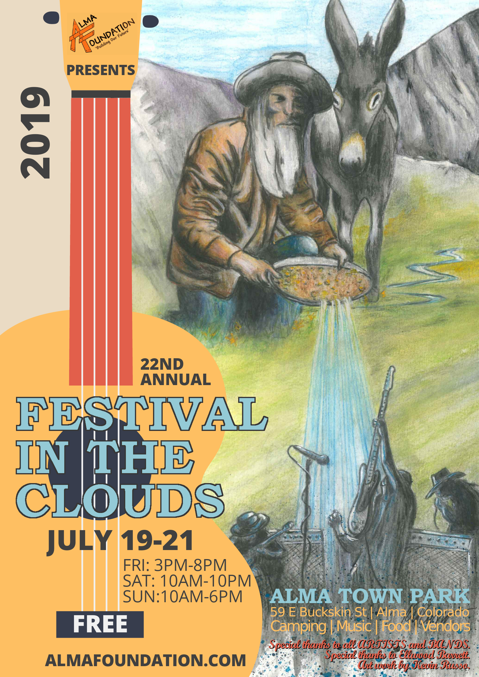 22nd Annual Festival in the Clouds | Alma Foundation