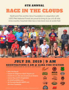 8th Annual Race in the Clouds @ Alma Fire Station