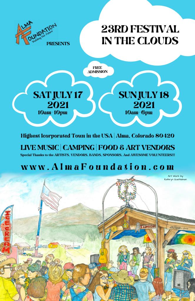 2021 Alma Festival in the Clouds